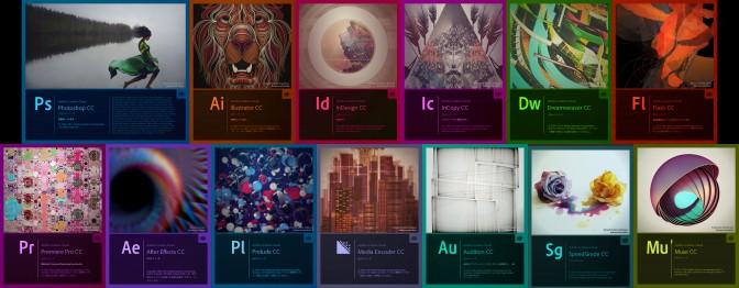 Adobe Creative Cloud 2014版スプラッシュスクリーン
