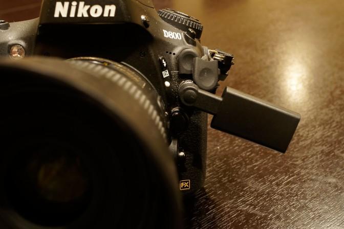 iPhoneをデジカメのリモコンにする Nikon D800編