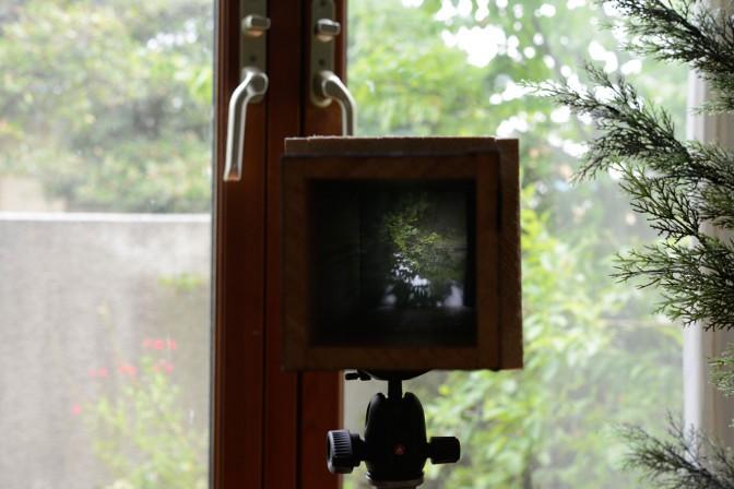 暗箱(ピンホール)カメラの制作 その3