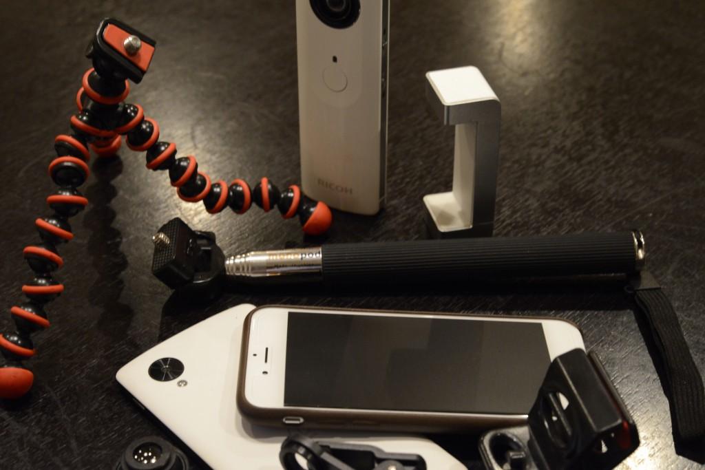 iPhone撮影に便利なアクセサリとアプリ