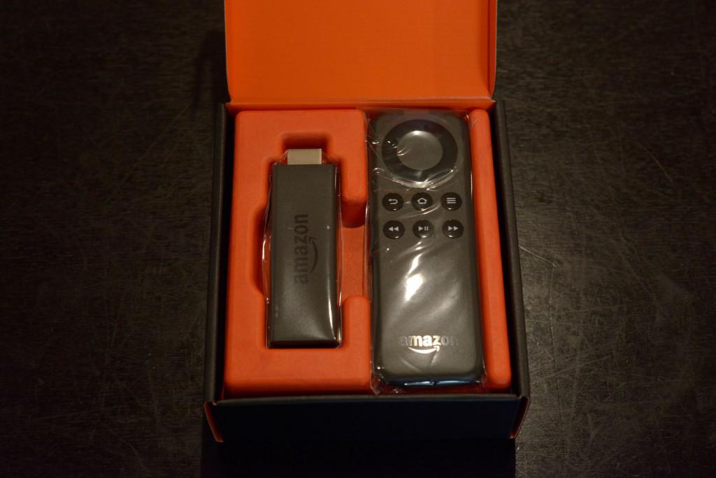 Amazon Fire TV Stickが到着、早速使ってみました