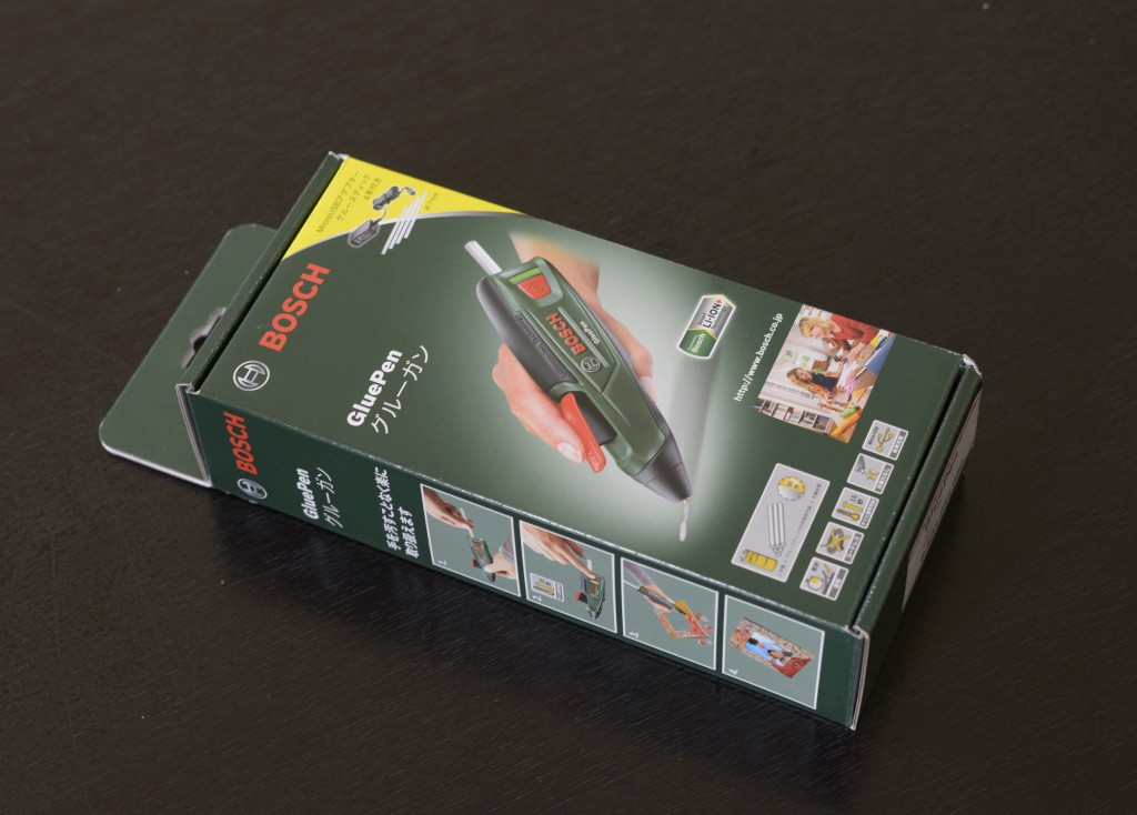 BOSCHのバッテリーグルーガン「Glue Pen」を使ってみました