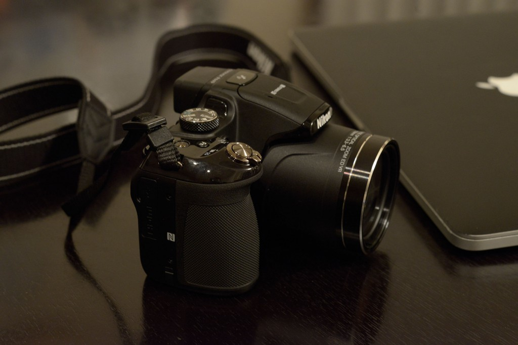 超望遠デジカメ、ニコン P610を購入
