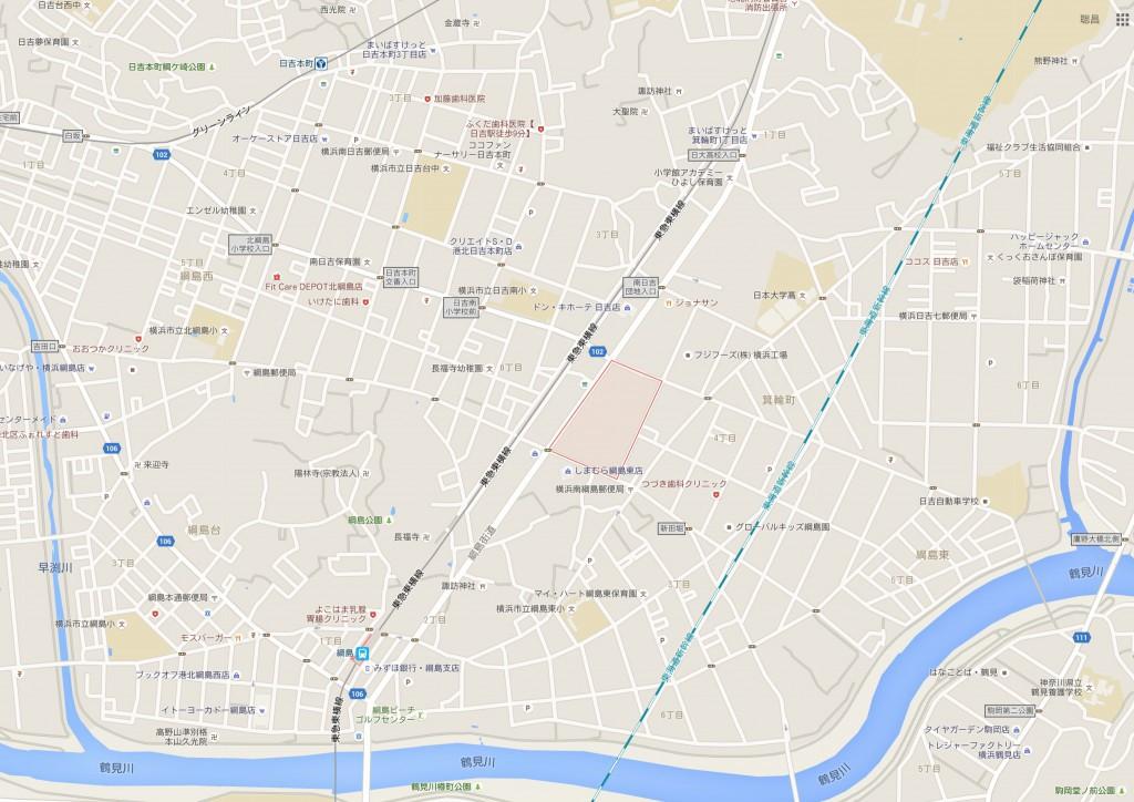 横浜のアップル研究開発所の建設状況を覗いてきました