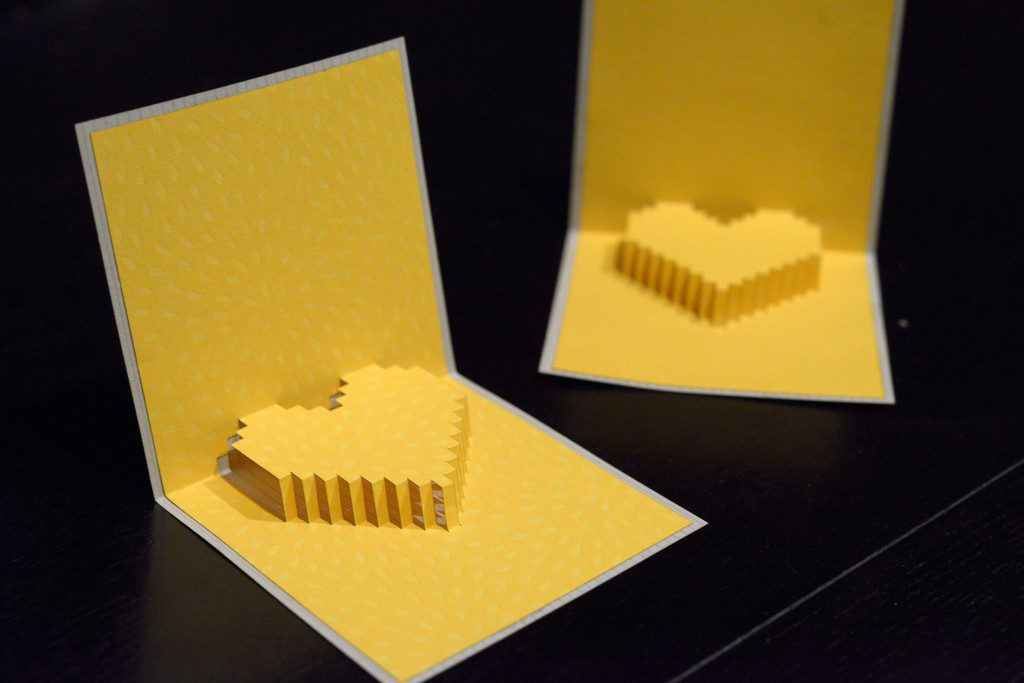 【Podea】レーザーカッターで簡単に作るポップアップカード