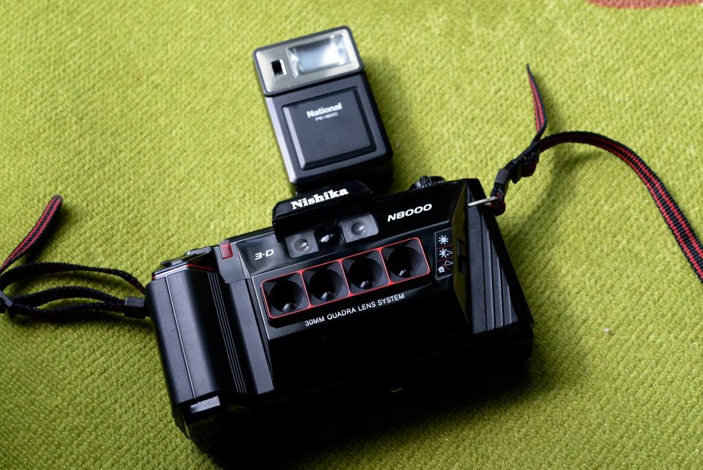 4眼ステレオカメラ「Nishika N8000」でアニメーションGIFを