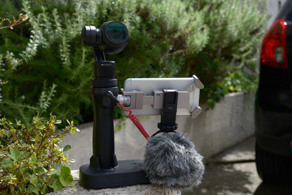 スタビライザー付きカメラ「DJI Osmo」を導入