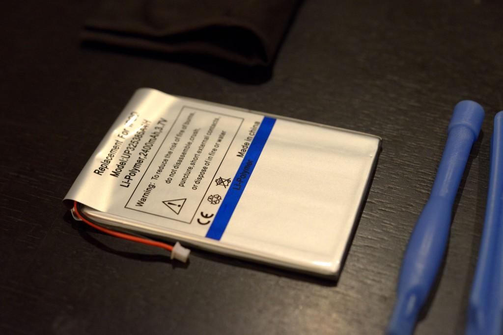 第2世代iPodのバッテリー交換