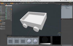3DCGソフト「MODO」を導入しました。さぁ、勉強するぞ〜。