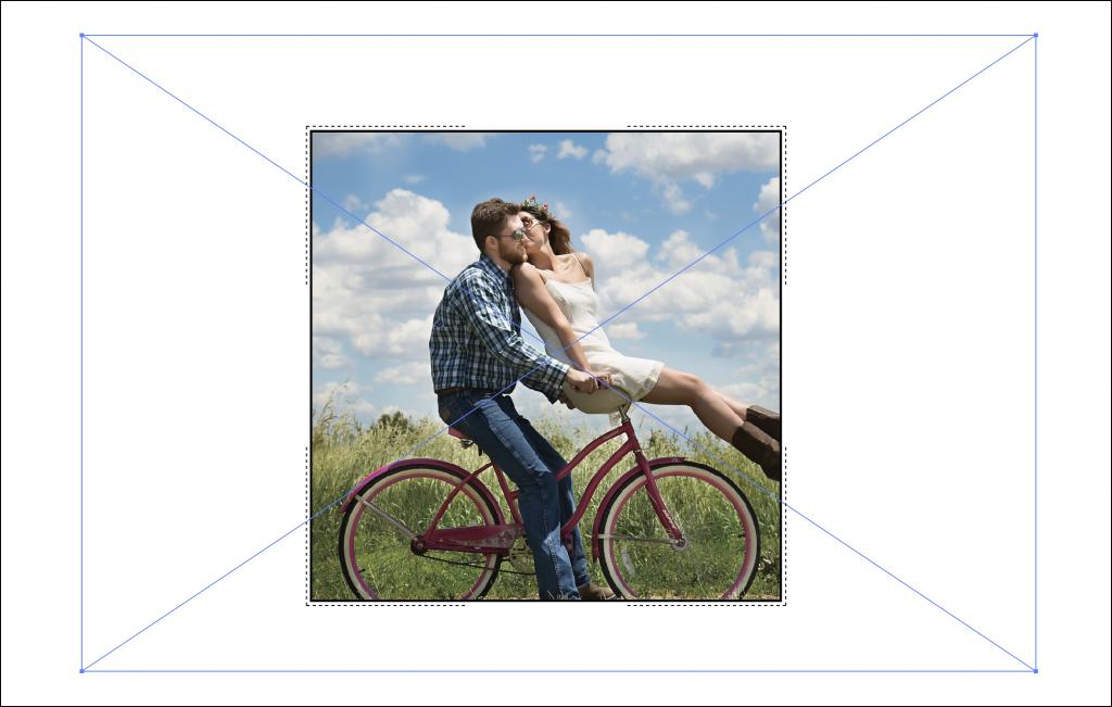 【Illustratort】レイアウト後の画像のリサイズとトリミング