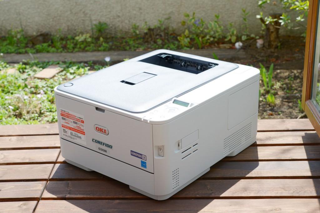 A4カラーレーザープリンター「OKI C332dnw」を購入