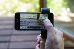スマートフォン用ハンドルグリップ「Shoulderpod S2」