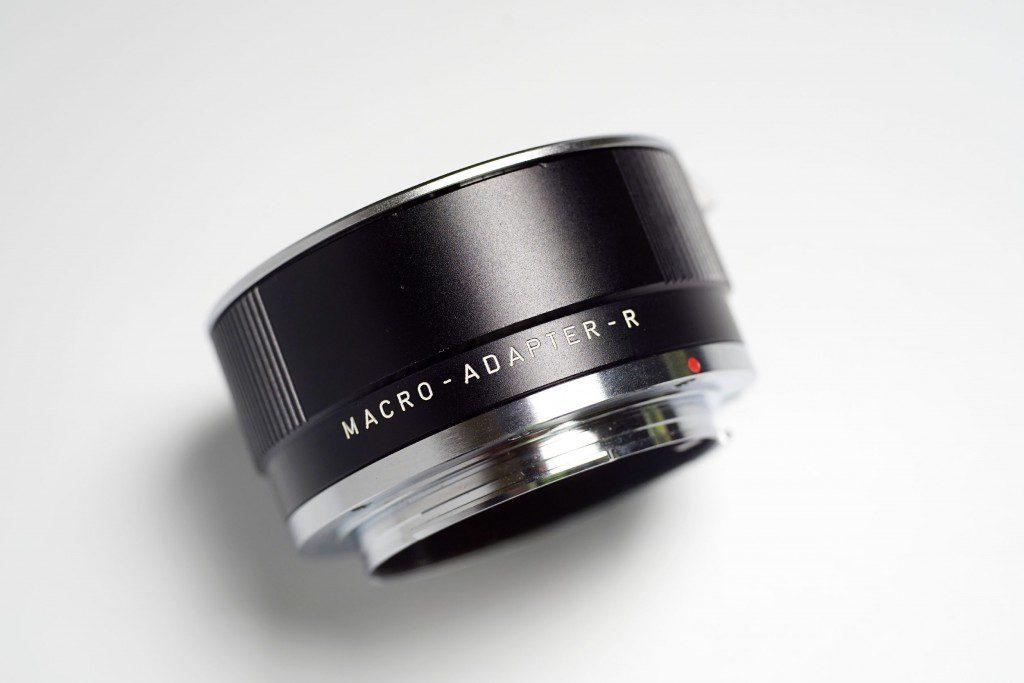 LEICA MACRO ELMARIT R 60mmの接写リング「Macro-Adapter-R」