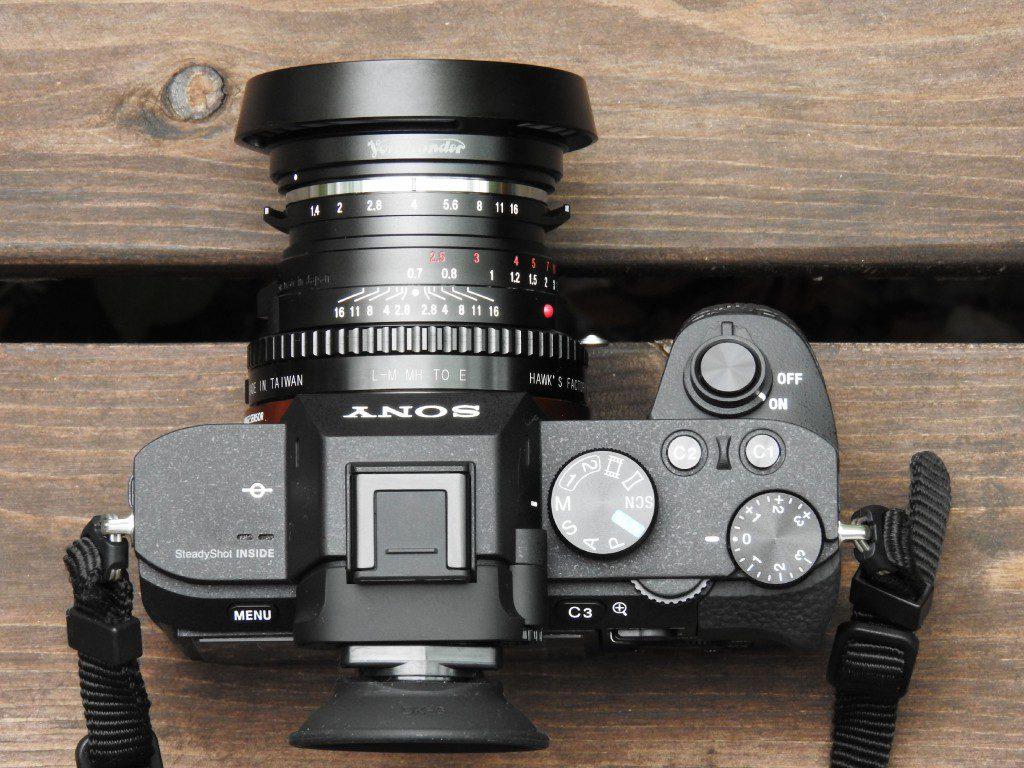α7Ⅱ用レンズ その1 「Voigtlander Classic Nokton 40mm F1.4 MC」