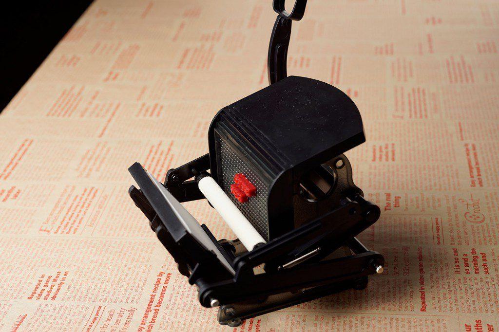 「大人の科学マガジン 小さな活版印刷機」