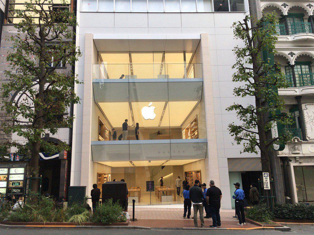 リニューアルしたApple渋谷のGeniusBarでMacBookProを修理