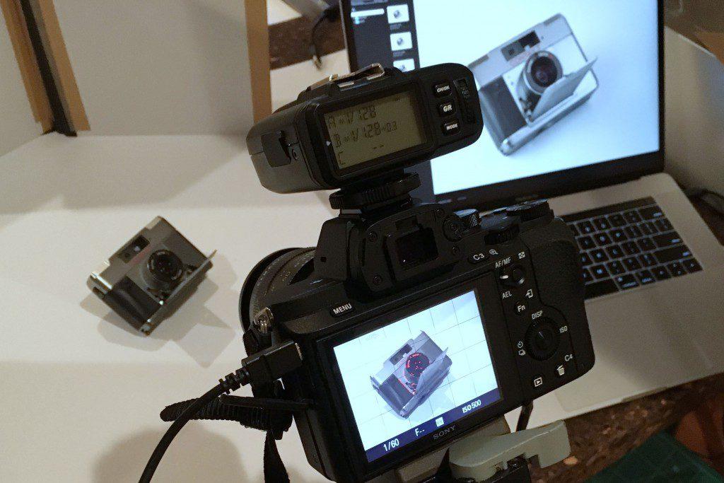 SONY α7IIとMacBook Proでテザー(リモート)撮影