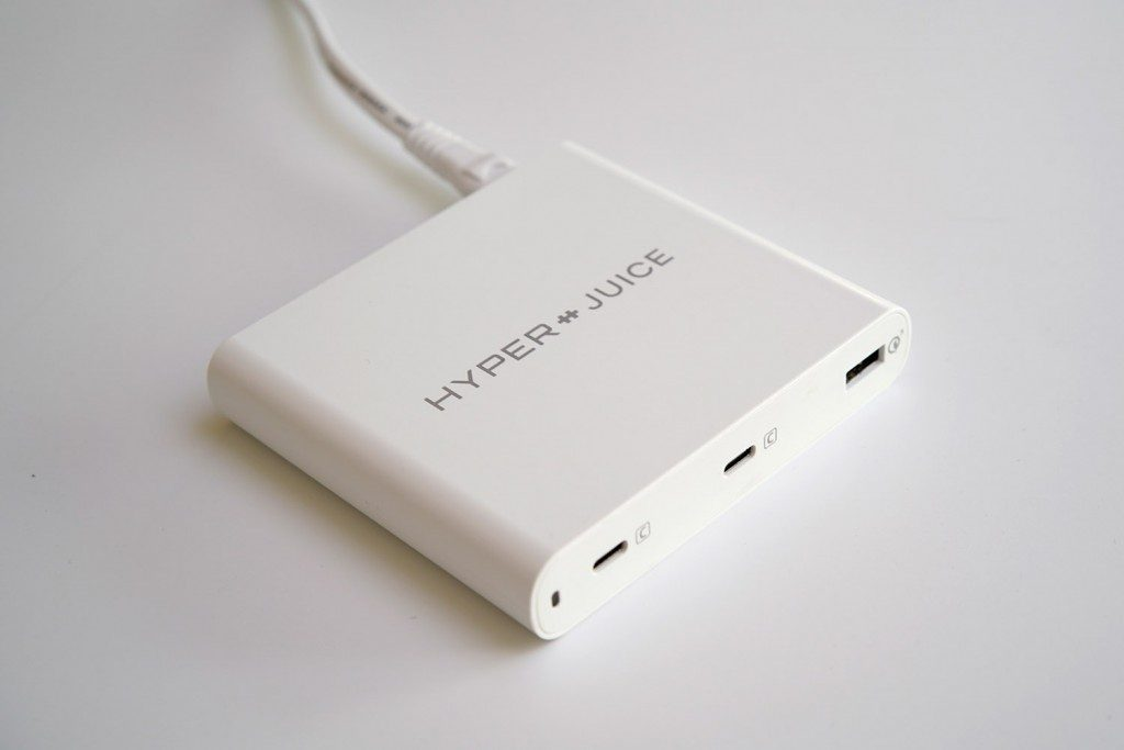 HyperJuice 87W USB-C チャージャー 自宅での給電用に