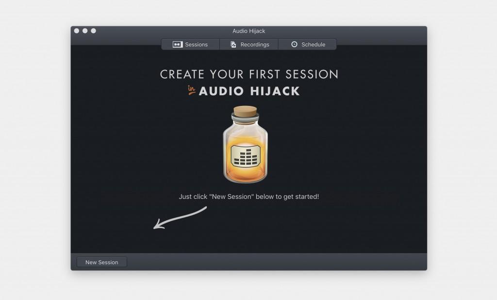 Macのあらゆるサウンドを録音できる「Audio Hijack」