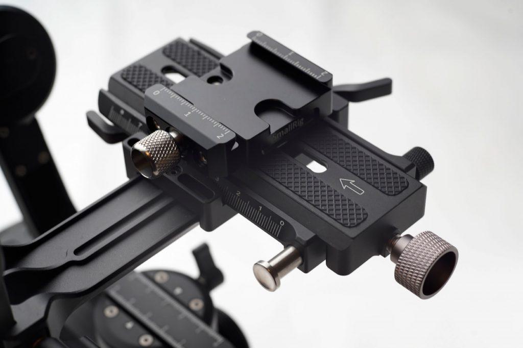 ジンバルセッティングを時短するArca-Swiss互換クイックリリースクランプ