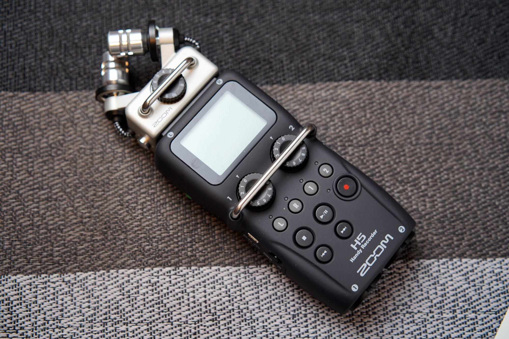 ハンディレコーダー ZOOM H2NからZOOM H5に買い替え