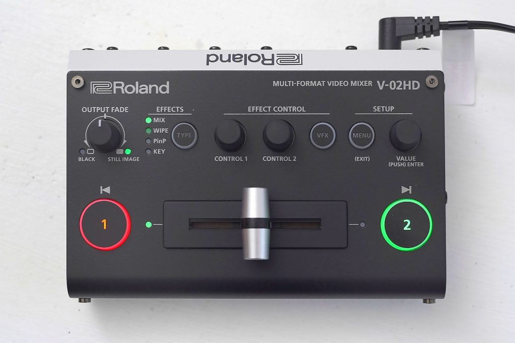 オンライン授業/オンライン配信に活躍、ROLAND V-02HD導入