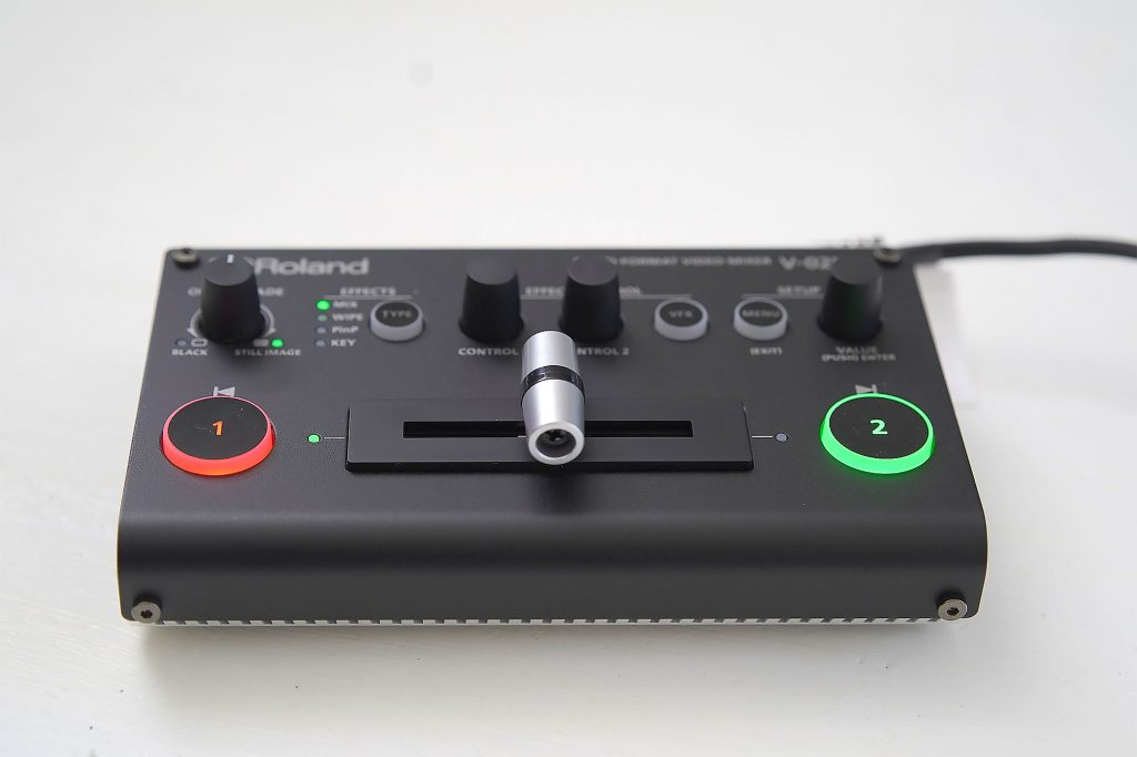 Roland V-02HDで出来ること ミックス&ワイプ編