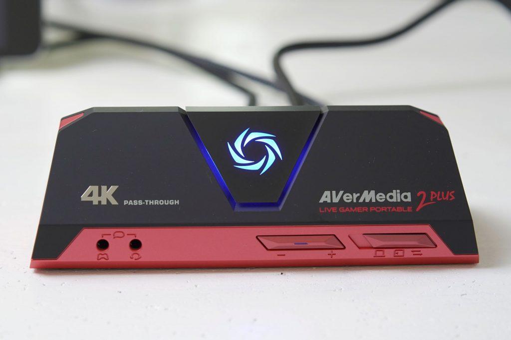 AVerMedia Live Gamer Portable 2 PLUS AVT-C878 PLUSの単体録画モードを使う
