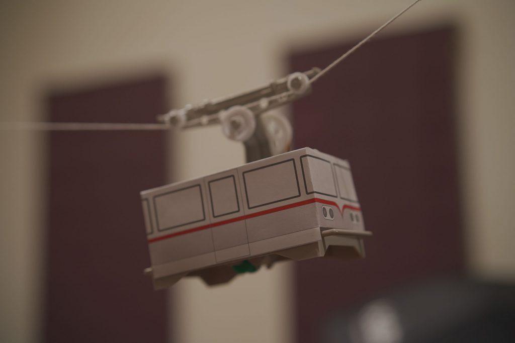 タミヤ 楽しい工作シリーズ No.120 ロープウェイ工作セット