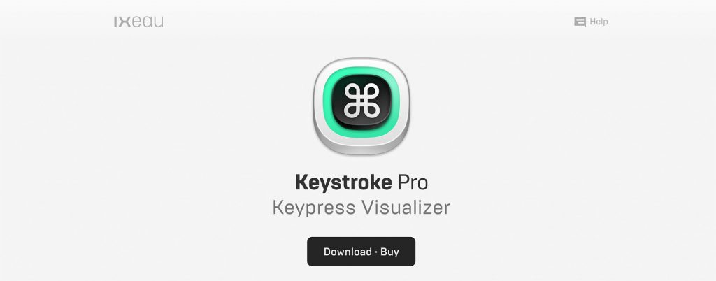Macのキー操作を画面表示する「Keystroke Pro」
