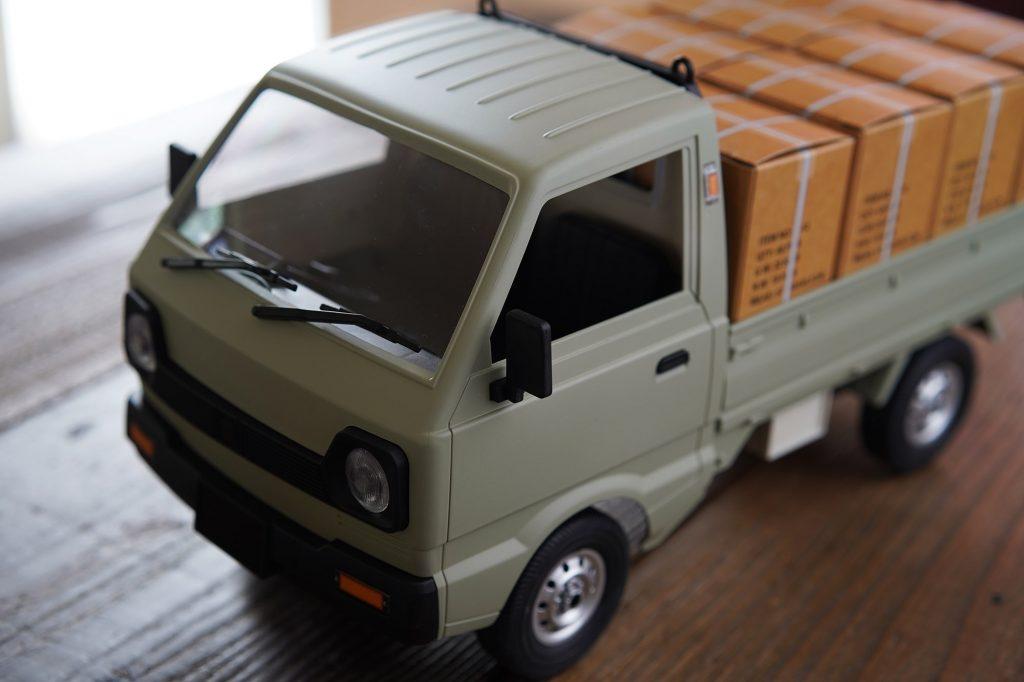 軽トラRC「D12」の塗装