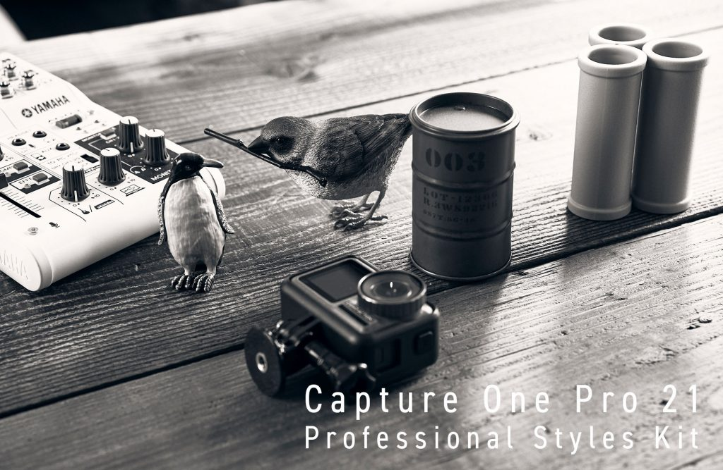 Capture One 21のProfessional Styles Kit(110スタイル)の作例