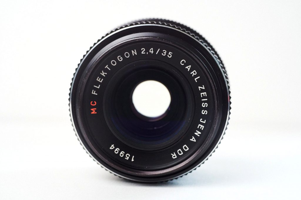 CARL ZEISS JENA DDR FLEKTOGON 35mm F2.4